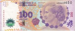 BILLETE DE ARGENTINA DE 100 PESOS DEL AÑO 2012 (BANKNOTE) - Argentina