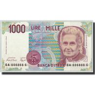 Billet, Italie, 1000 Lire, 1990, 1990-10-03, KM:114a, NEUF - [ 2] 1946-… : Républic