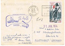 1730 BONAPARTE ARCOLE SEUL SUR CP POUR L'ALLEMAGNE - Postmark Collection (Covers)