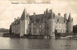 53 MEZANGERS CHATEAU DU ROCHER  VUE PRISE DU COTE DE L'ETANG - France