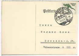 ALEMANIA REICH 1937 ALTENBERG CAMPEONATO DE ESQUI SKI - Ski