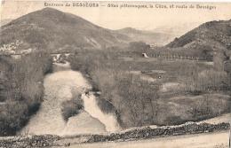 ***  30  ***   Environs De Besseges Site Pittoresque La Ceze Et Route De Besseges - écrite TTB - Bessèges