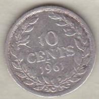 Liberia, 10 Cents 1961. Argent .KM# 15 - Liberia