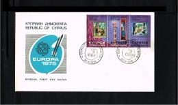 1975 - Europe CEPT FDC Cyprus [P14_294] - Europa-CEPT