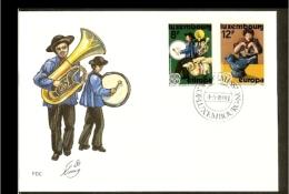 1981 - Europe CEPT FDC Luxemburg [NL051_10] - Europa-CEPT