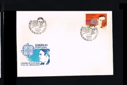 1983 - Europe CEPT FDC Portugal [EY022] - Europa-CEPT