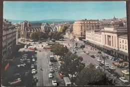 Geneve – 472 – Place Et Gare De Cornavin – Viagg- 1974 – (2372) - VD Vaud