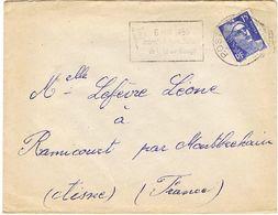 O.MEC POSTES AUX ARMEES 8 MAI 53 JOURNEES INTERNATIONALES DE LA CROIX ROUGE - Croix-Rouge