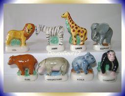 Petits Zoo .. Série Complète .. Ref AFF : 30-2007 ... ( Pan 0032) - Animals