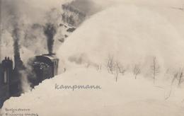 Bergensbahnen,ungelaufen Eneberettiget 1908 - Trains