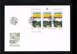 1977 - Europe CEPT FDC Portugal Mi.1360-1361 - Block 20 [D18_007] - Europa-CEPT