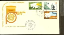 1979 - Europe CEPT FDC Cyprus [NL096_22] - Europa-CEPT