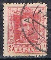 Sello 25 Cts Alfonso XIII Vaquer, Fechador YECLA (Murcia), Num  317 º - 1889-1931 Reino: Alfonso XIII