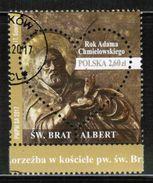 PL 2017 MI 4914 Saint Albert Chmielowski USED - 1944-.... Republik