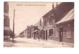 80 Rollot Rue Saint Nicolas Et La Poste PTT Postes Telegraphes Et Telephones Edit Bouly - Francia