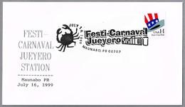 FESTI-CARNAVAL JUEYERO. CANGREJO - CRAB. Maunabo PR 1999 - Carnavales