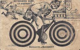 BICYCLETTE EN MOUVEMENT - Humoristiques