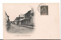 GUYANE - Cayenne - Rue Christophe Colomb - Carte PE - Voir Scan - Cayenne