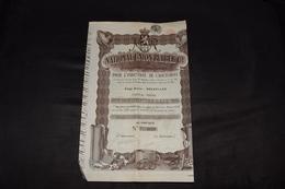 Action 500 Frs National Union Rubber Caoutchouc 1920 (1) - Industrie