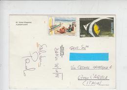 SENEGAL  1988 - Cartolina Per Italia - Senegal (1960-...)