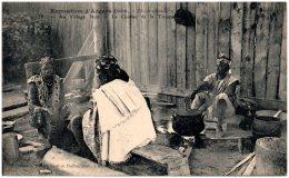 49 Exposition D'ANGERS 1906 - Au Village Noir - La Cuisine De La Troupe - Angers