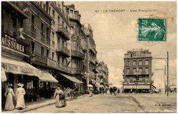 76 LE TREPORT - Quai Francois 1er - Le Treport