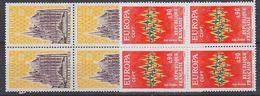Europa Cept 1972 France 2v Bl Of 4  ** Mnh (37852A) - 1972