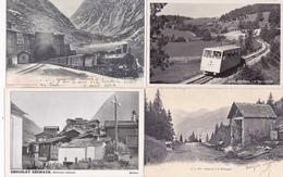 Lot De 400 Cpa Uniquement De Suisse-description Francais Allemande-Beschreibung Französisch Deutsch-140 Photos Scannées- - Suisse