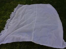 Rideau Nylon Plumetis 4 Long. 77x183 Peut Servir Pour Confectionner Robe Poupee Ou Autre - Drapery