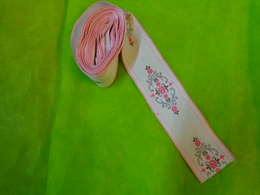 Ruban 7cm X4.80metres Pour Decor De Robe Ou Autre Pour Poupee - Laces & Cloth