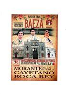 HOJA ANUNCIO PUBLICIDAD PANFLETO CORRIDA DE TOROS BAEZA JAÉN SPAIN ESPAÑA 2017 MORANTE CAYETANO ROCA REY BULLFIGHTING - Otras Colecciones