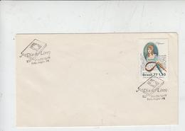 BRASILE  1977 - FDC - Yvert 1289 - Giorno Del Libro - FDC