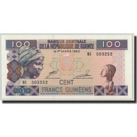 Billet, Guinea, 100 Francs, 1960, 1960-03-01, KM:35b, NEUF - Guinée