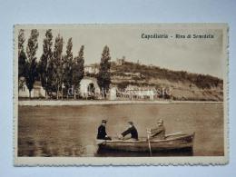 CAPODISTRIA ISTRIA Riva Semedella Slovenia Slovenija AK  Vecchia Cartolina - Slovenia