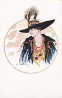 POSTAL DE ITALIA DE UNA MUJER  (WOMAN-FEMME-DONNA) A. LE DUC - Mujeres