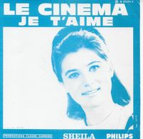 """Sheila 45t. SP """"le Cinema"""" - Other - French Music"""