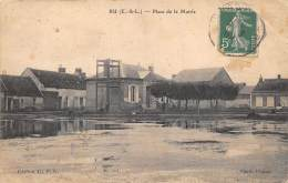 EURE ET LOIR  28  BU  PLACE DE LA MAIRIE - Andere Gemeenten