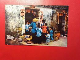 Hong Kong - The Fishman's Children New Teritories - Real Photo 1960 - Cina (Hong Kong)