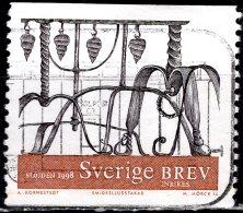 SWEDEN 1998 Iron Candlestick - (5k.) - Black And Brown FU - Sweden
