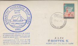 Argentina 1971 Antarctic Research Ship Hero Ca 3 Sep 71 Cover  (37855) - Poolshepen & Ijsbrekers