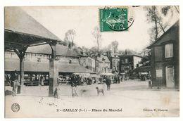 CAILLY  PLACE DU MARCHË --BELLE ANIMATION - France