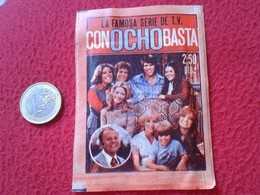 ANTIGUO Y ESCASO SOBRE DE CROMOS SERIE TV CON OCHO BASTA EIGHT IS ENOUGH FHER 1979 SIN ABRIR. SERIES, VER DESCRIPCIÓN - Documentos Antiguos