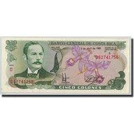 Billet, Costa Rica, 5 Colones, 1991, 1991-04-03, KM:236e, NEUF - Costa Rica