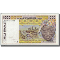Billet, West African States, 1000 Francs, 1990, KM:707Kg, SUP - West-Afrikaanse Staten