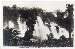 OUBANGUI CHARI - Afrique Equatoiale Française - Chute De La M'Bali (103195)) - Ciad