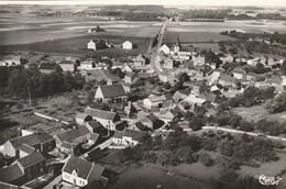 Jandrain  , Vue Generale Aerienne ,  35-10 A , Noir Et Blanc , RARE - Orp-Jauche