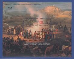 Tschechien 2005, Blockausgabe Napoleon Schlacht Bei Austerlitz  Mi.-Nr. Block 22 - Non Classés