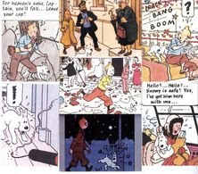 TINTIN  -     TINTIN      SERIE DE 20 CARTES   N° 126 127  144 A 161  EDITIONS ANGLAISE  PUBLISHED BY VINTAGE MAGAZINE C - Hergé