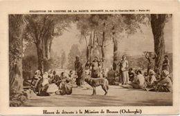 Heure De Détente A La Mission De Bessou (Oubanghi)    (103199)) - Ciad