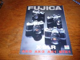CB5 Folder Commercial  Appareil Photo Fujica X-SLR - Photography